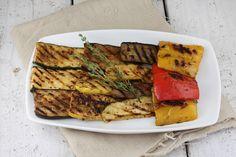 Grilled Summer Vegetables + Tuscan Marinade