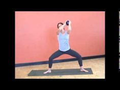 5 Minutes of Fat Burning Yoga with Weights with Hope Zvara - YouTube