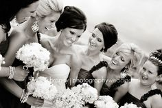 close up bridesmaids