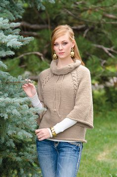 Ravelry: Comfortable Cables pattern by Jill Wright