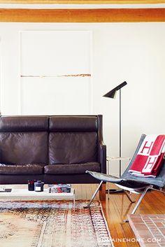 HOME TOUR: A RISING DESIGNER'S ECLECTIC HANCOCK PARK HOME--image via Domaine