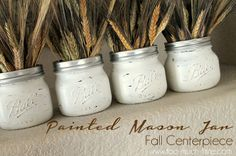 These cute mini mason jars have just been transformed into your next must-try DIY for fall! Find out the details here!