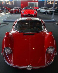 Alfa Romeo 33 Stradale and Alfa Romeo 8C