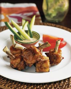Grilled Chicken Lollipops | Tommy Bahama
