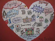 school, mind maps, heart mapping, kid