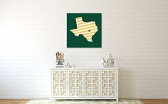 Cute and simple #Baylor/#Texas wall art