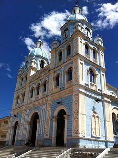 Church in Malacatos, Ecuador