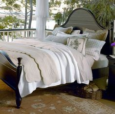 Arch Bed With Paneled Details And Turned Finial Posts From Joss And