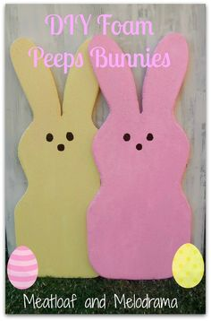 DIY Peeps - Fun Easter Projects