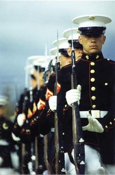 Men in uniform (Marines)