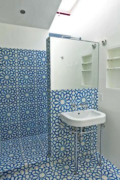Eclectic Bathroom by Granada Tile