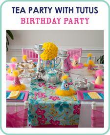 Tea Party with tutu