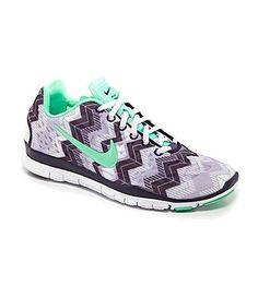 Nike Womens Free TR Fit 3 Print Training Shoes #Dillards