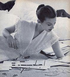 1950s nightwear.