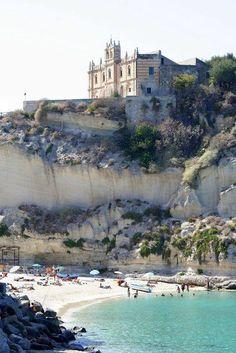 Tropea beach, Calabria, Italy.