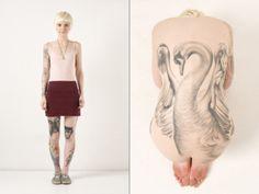 gorgeous tattoo, london tattoo, swan tattoo, bodi art, black swan, tattoo artists, a tattoo, 3d tattoos, designer bags