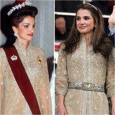La reina Rania de Jordania