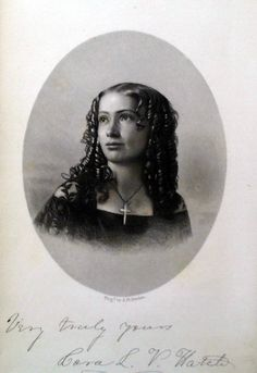 Cora Lodencia Veronica  Hatch Scott (1840–1923) was one of the best-known mediums of the Spiritualism movement of the last half of the 19th century. Most of her work was done as a trance lecturer, though she also wrote some books whose composition was attributed to spirit guides rather than her own personality.
