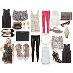 """""""Packing for Vegas"""" by jessica5eme on Polyvore"""