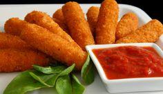Low fat mozzarella sticks