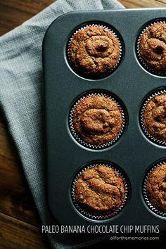 Paleo Gluten-Free Banana Muffins