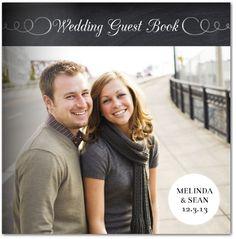 Chalked Wedding Guest Book