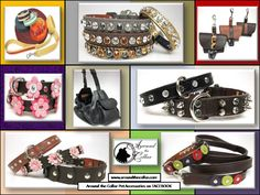 Hemp, leather, suede....what's your fancy? Around the Collar offers it all in so many ways www.aroundthecollar.com