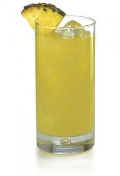 Caribou Lou (1 1/2 parts Bacardi 151 Rum  1 part Malibu coconut rum 5 parts pineapple juice)