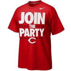 Nike Cincinnati Reds Join The Party T-Shirt - Red
