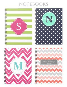 Jessica Marie Design Blog: Pretty Back-to-School Supplies pretty school supplies, notebook, polka dot, pretti backtoschool, backtoschool suppli, back to school supplies, school stuff, school supplies highschool, note book