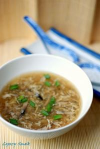 Zupa chinska pikantno-kwaśna