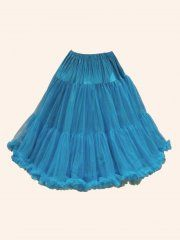 Petticoat Teal Vivien of Holloway, teal and white?