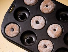 Vegan Apple Cider Doughnuts | Vegetarian Times