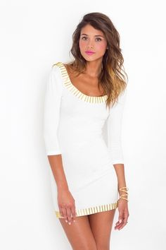 I also love this dress in white.