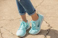 Sneaker Stalking: How Real Women Wear Them In NYC #refinery29  http://www.refinery29.com/athletic-shoes#slide6  Nike's Free Runs are definitely on the sneaker leaderboard.