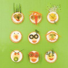 C'est fou tout ce qu'on peut faire avec un oeuf : se régaler et raconter de belles histoires :D #kiri #recette #enfant #fun #oeuf #food
