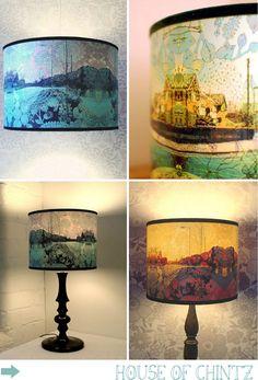 diy lampshades