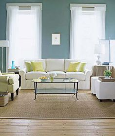 Get quick but thorough spring cleaning tips for carpets, windows, mattresses, and more. (I like this room)