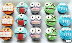 Really cute Lil Monsters cupcakes!!!