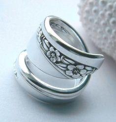 Silver Spoon Rings!!