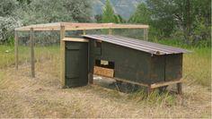 Nice, simple chicken coop w/ plans