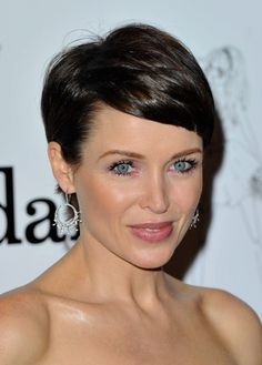 Dannii Minogue pixie haircut