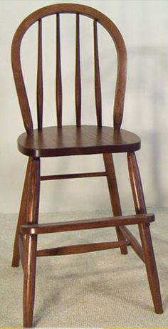 Bow Youth Chair in Oak