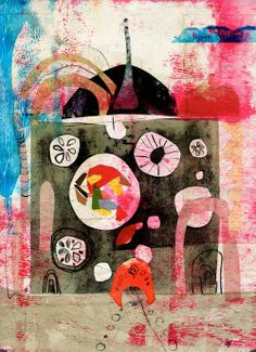 #Andrea #D'Aquino on the #AnthroBlog anthropologi, andrea daquino, color, artsi, collag, inspir, andreadaquino, artist, illustr