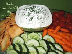 Melissa's Southern Style Kitchen: Fresh Cucumber-Dill Dip