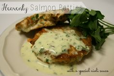 Heavenly Salmon Patties with a Special Aioli Sauce - Girl Meets Nourishment