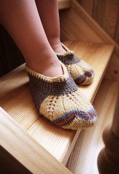 interesting slipper pattern