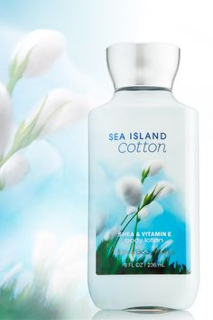 2X the moisture. 3X the shea. 16 hours of softer skin & fresh, clean scent! #SeaIslandCotton