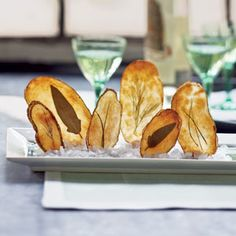 Top-Rated Party Appetizers | Windowpane Potato Chips | CookingLight.com