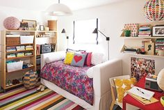 Be sure to see our hip teen room. Get more decorating ideas at http://www.CreativeBabyBedding.com